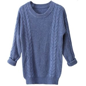 Cashmere Oversized  Knitted Sweater